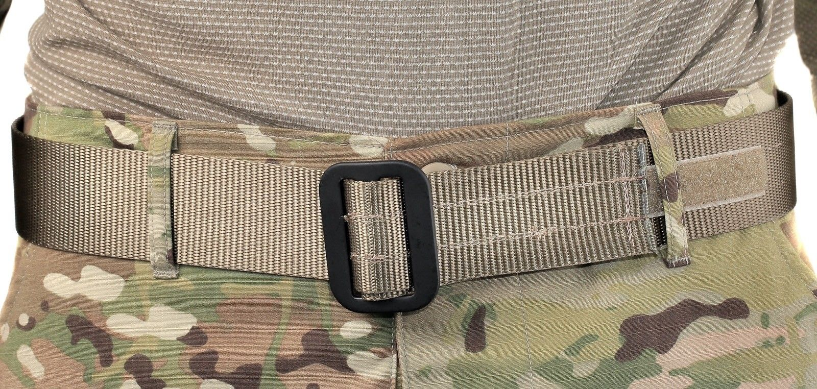 US Military Army Heavy Duty Riggers Uniform Belt BDU Tactical COYOTE LARGE MINT