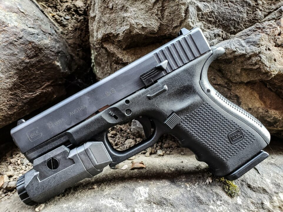 Gun Accessories: KAGWERKS Extended and Raised Slide Release for Glock GEN 5