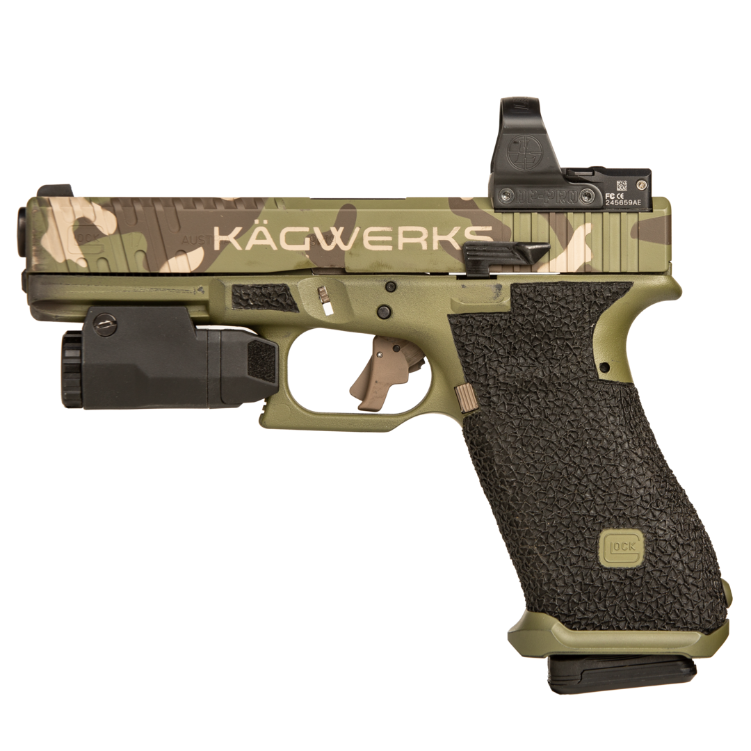 KAGWERKS Extended and Raised Slide Release for Glock GEN 5