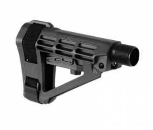 SB Tactical SBA4 Pistol Stabilizing Brace w/ 6 Position Milspec Receiver Extension