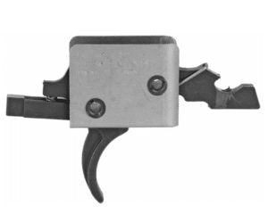 CMC AR-15 / AR-10 Single Stage Drop-In Curved Trigger – Small Pin
