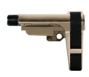 SB Tactical SBA3 Pistol Stabilizing Brace w/ 6 Position Milspec Receiver Extension (SBA3-01-SB) AR 15 tactical accessories